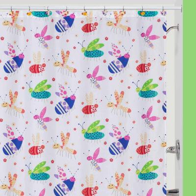 Cute As A Bug Shower Curtain
