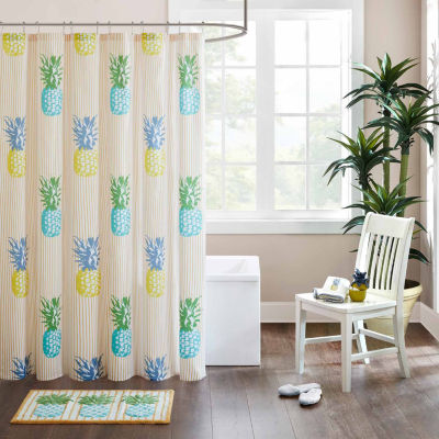 Hana Cotton Shower Curtain