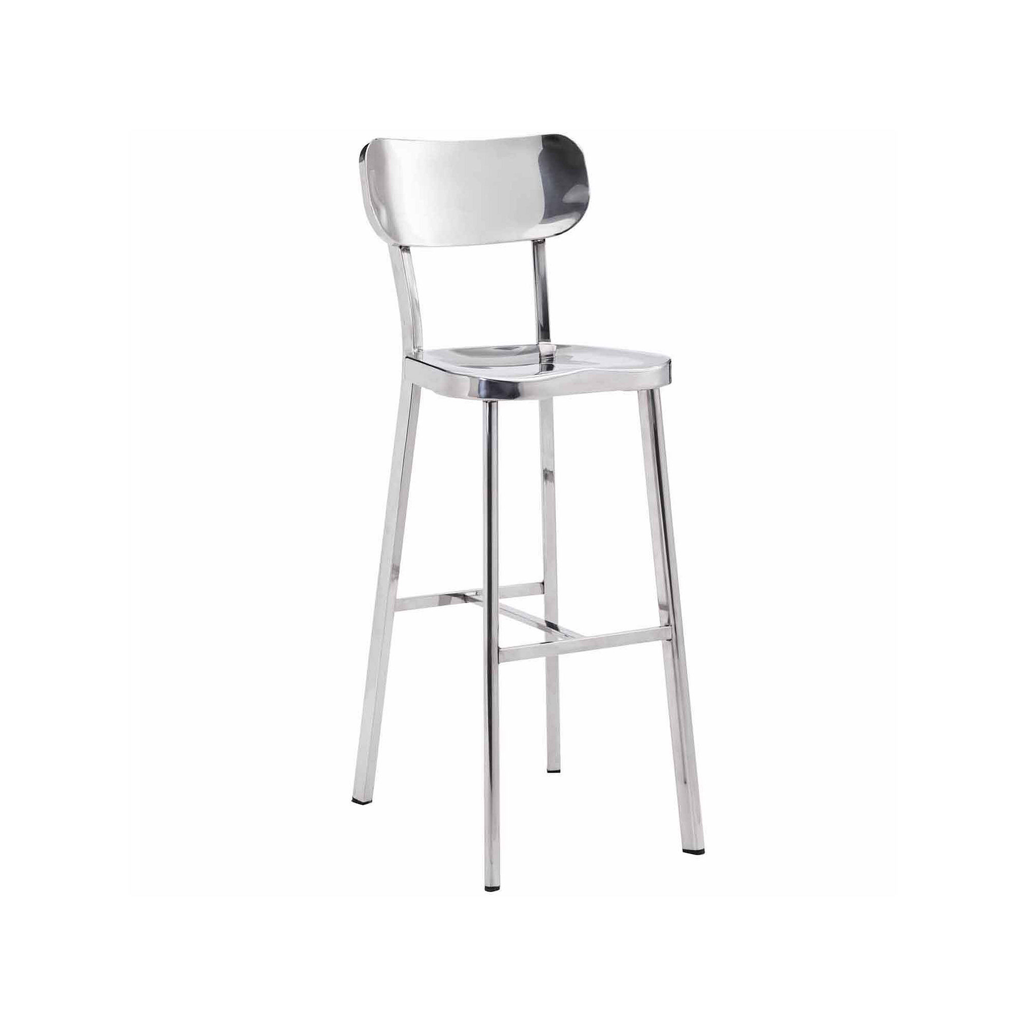Zuo Modern Winter Bar Stool