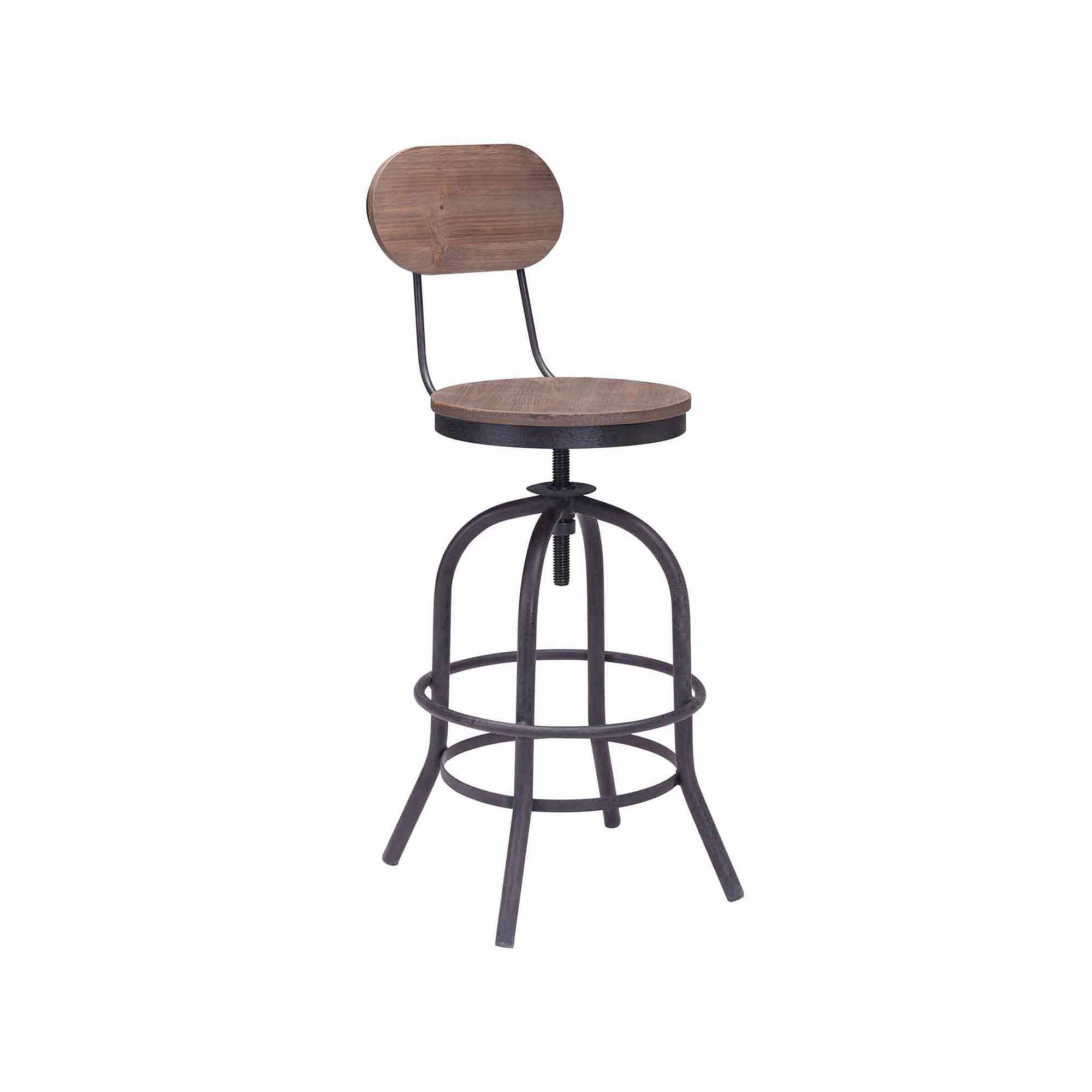 Zuo Modern Twin Peaks Counter Height Bar Stool