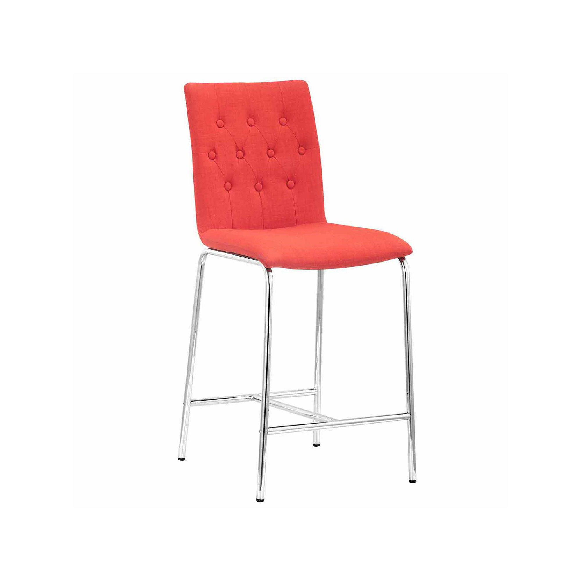 Zuo Modern Uppsala 2-pc. Counter Height Bar Stool