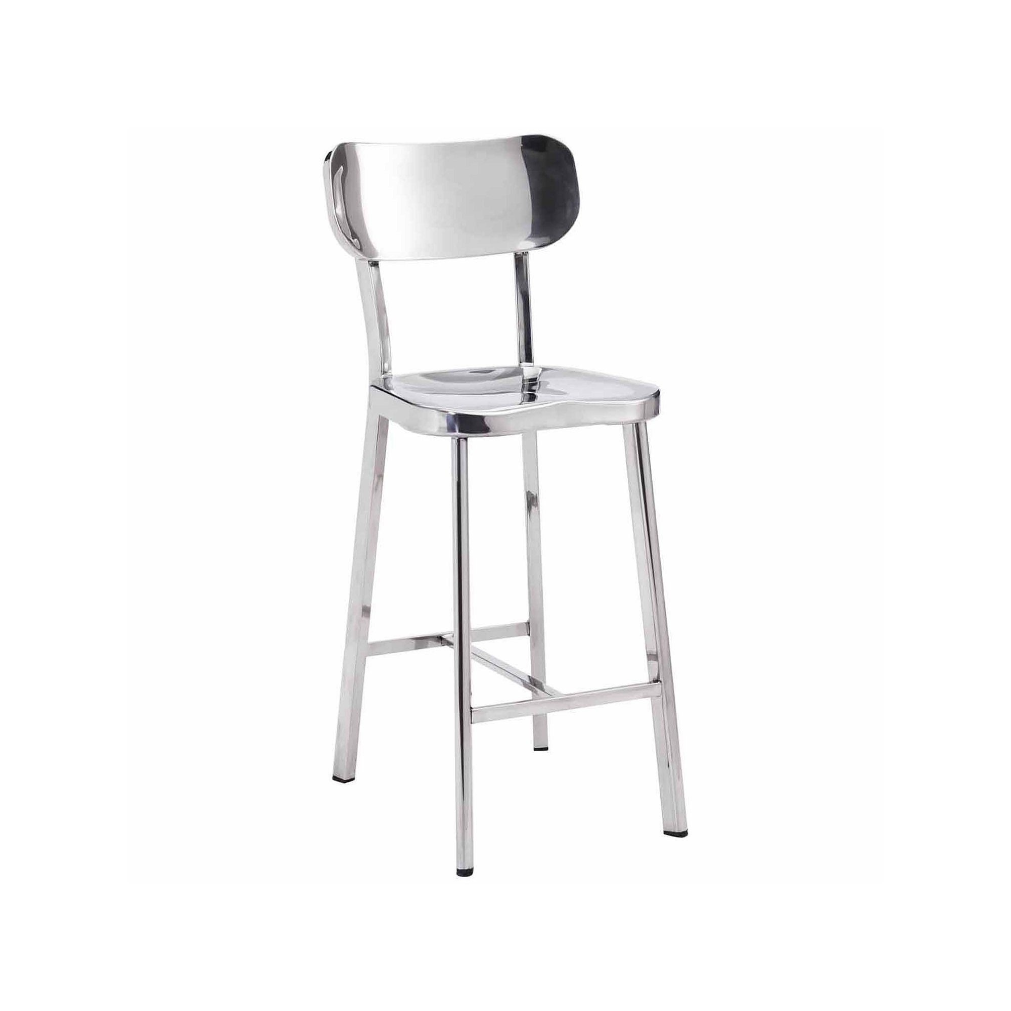 Zuo Modern Winter 2-pc. Bar Stool