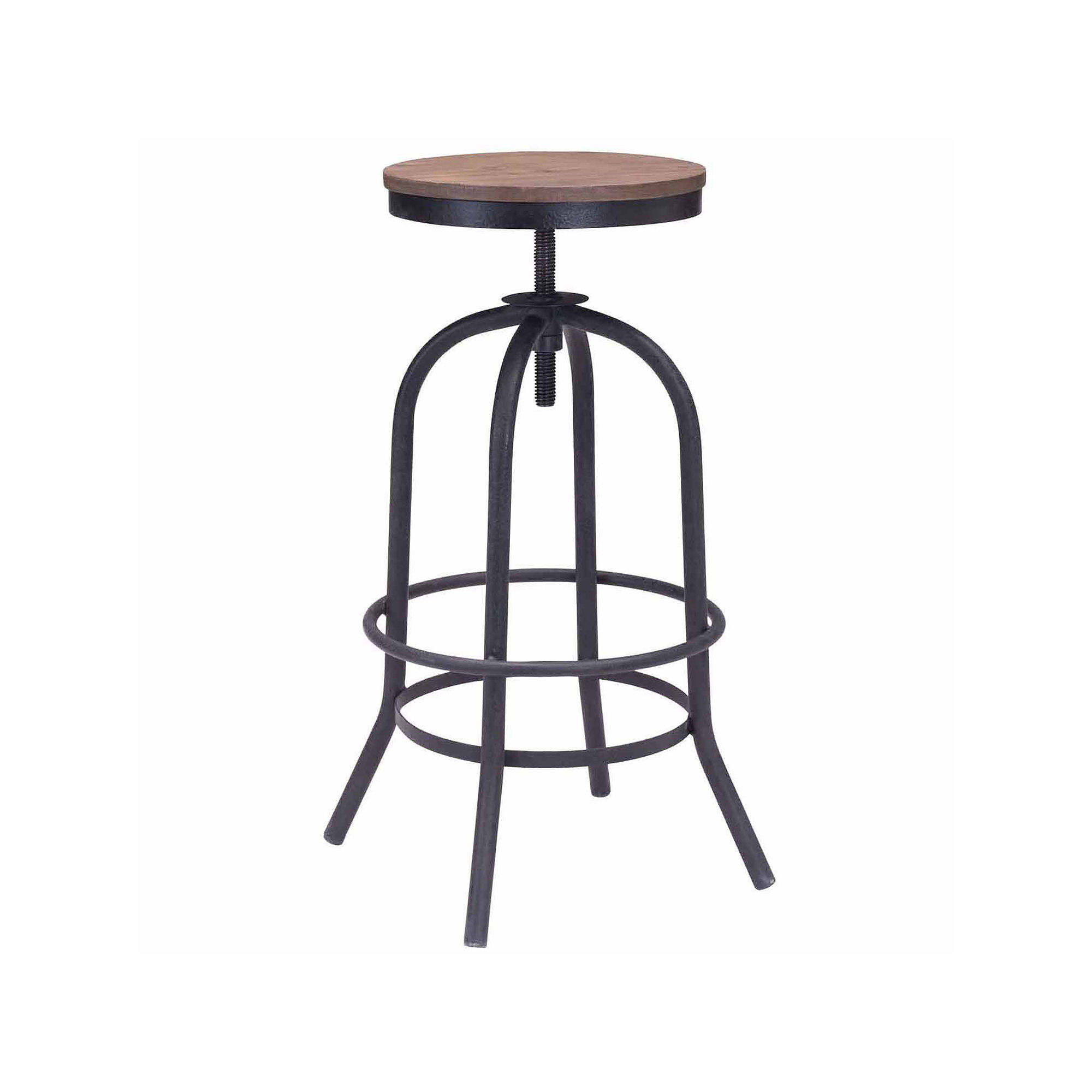 Zuo Modern Twin Peaks Bar Stool