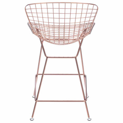 Zuo Modern Wire 2-pc. Bar Stool