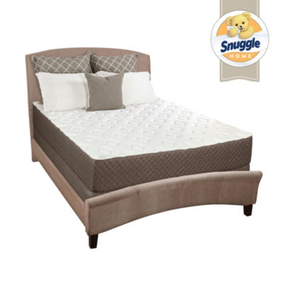 "Snuggle Home 10"" Quilted Firm Tight-Top Foam Mattress"
