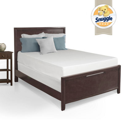 "Snuggle Home 10"" Medium Tight-Top Gel Memory Foam Mattress"