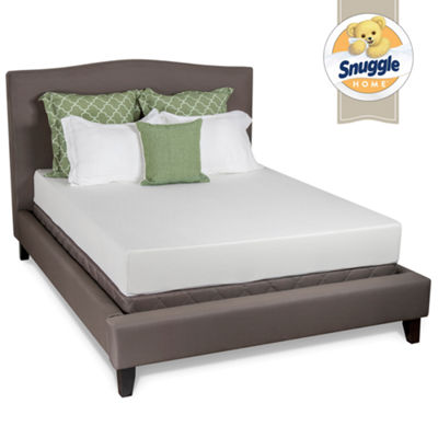 "Snuggle Home 8"" Firm Tight-Top Latex Plus Foam Mattress"