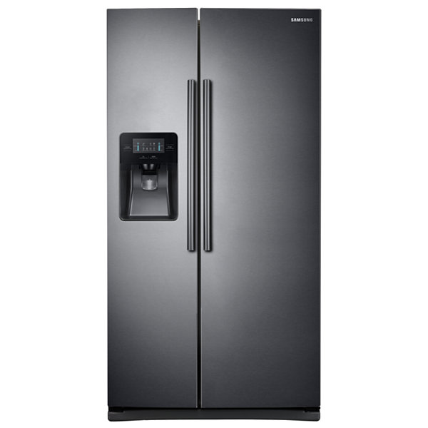 Samsung 25 cu ft Side-by-Side Refrigerator with LED Lighting