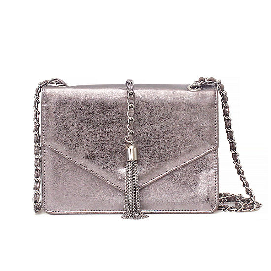 Nicole By Nicole Miller Tara Tassel Crossbody Bag