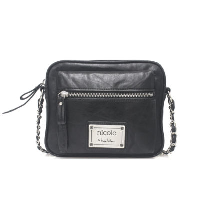 Nicole By Nicole Miller Laurel Square Crossbody Bag