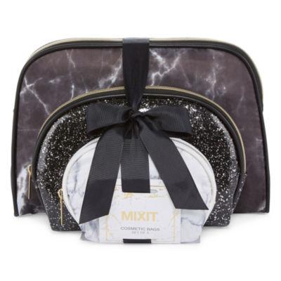 Mixit 3-pc Makeup Bag