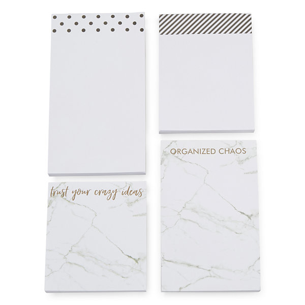 Mixit Black and White Notepad Set