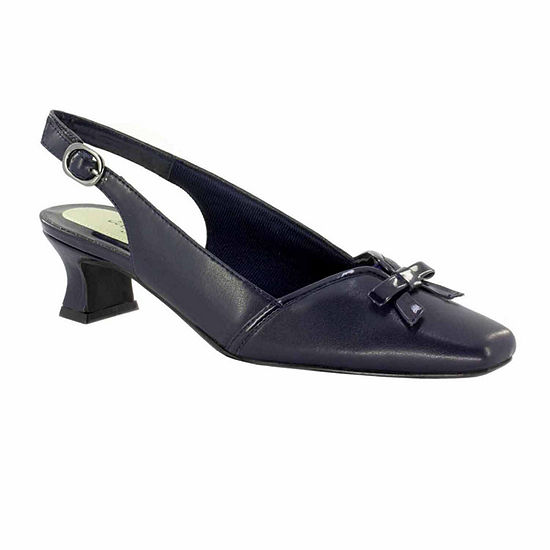 39859af3371 Easy Street Womens Incredible Pumps Square Toe Kitten Heel - JCPenney