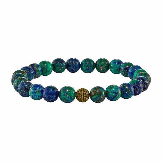 Multi Color Agate Beaded Bracelet