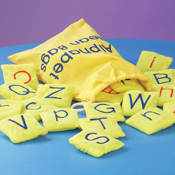 Educational Insights Alphabet Beanbags