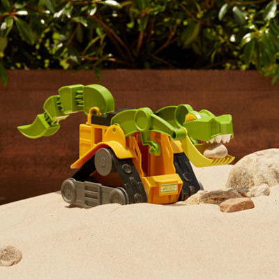 Educational Insights Dino Construction Company™—  Wrecker The T-Rex Skid Loader