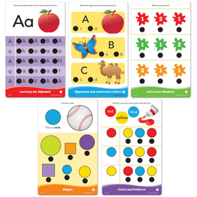 Educational Insights Hot Dots® Jr. Getting Readyfor School! Set with Ace Pen