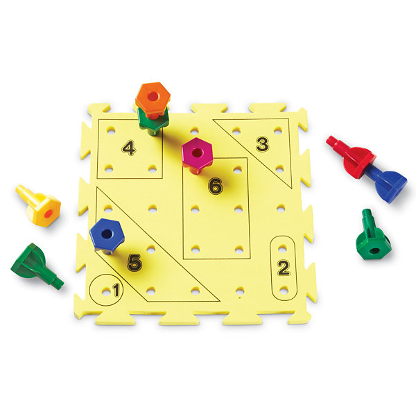 Learning Resources Rainbow Peg Play™ Activity Set