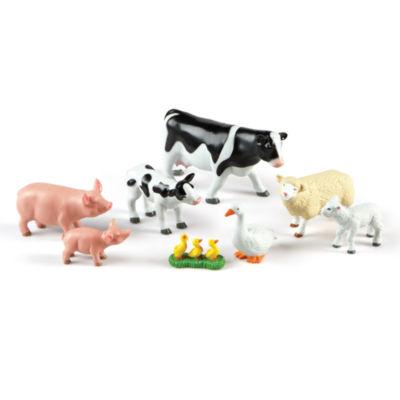 Learning Resources Jumbo Farm Animals: Mommas andBabies