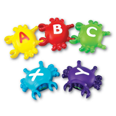 Learning Resources Smart Splash® Letter Link Crabs