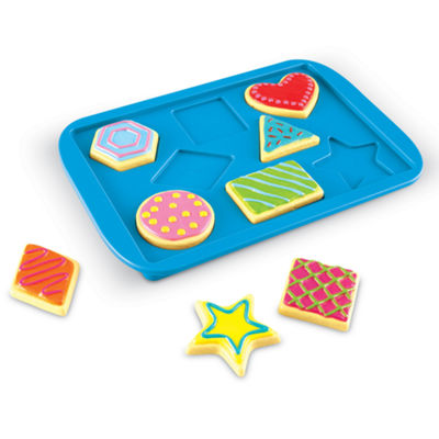 Learning Resources Smart Snacks® Shape Matching Cookies
