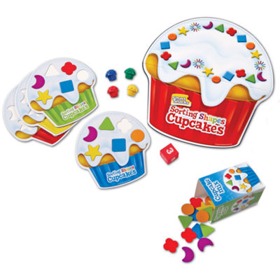 Learning Resources Smart Snacks® Sorting Shapes Cupcakes™ Game