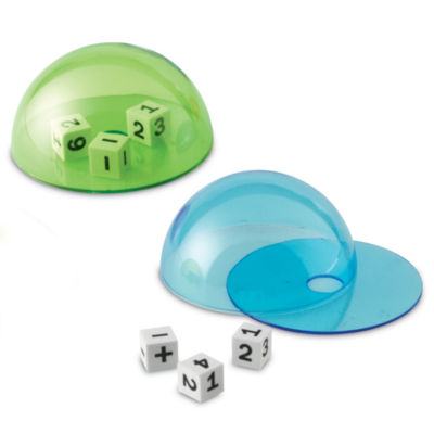 Learning Resources Dice Domes Set of 4