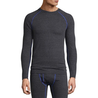 Fruit Of The Loom Breathable Mesh Crew Neck Long Sleeve Thermal Shirt Big