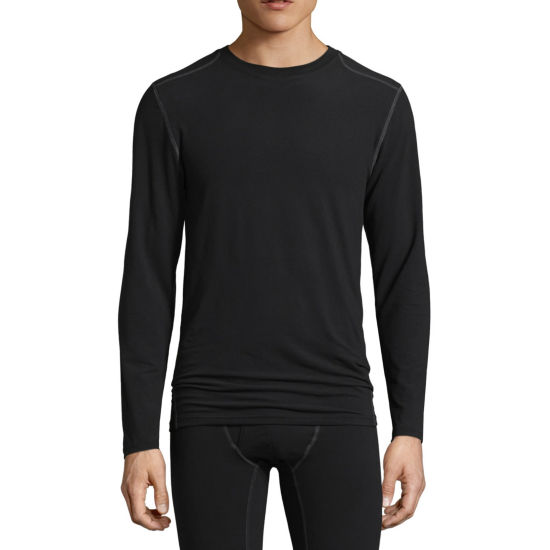 Fruit Of The Loom Performance Crew Neck Long Sleeve Thermal Shirt Tall