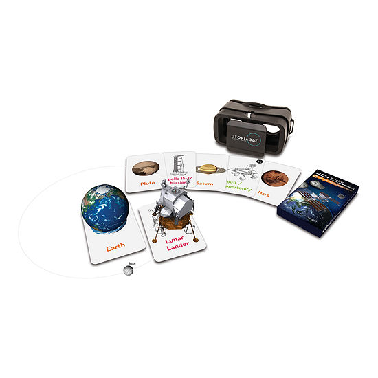 ReTrak 4D+ Space Exploration Augmented Reality Cards & Virtual Reality Headset
