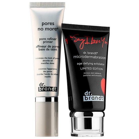 Dr Brandt Skincare Sayiloveyou Microdermabrasion Pore Refiner Primer Bundle