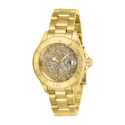 Invicta Womens Gold Tone Bracelet Watch-26293