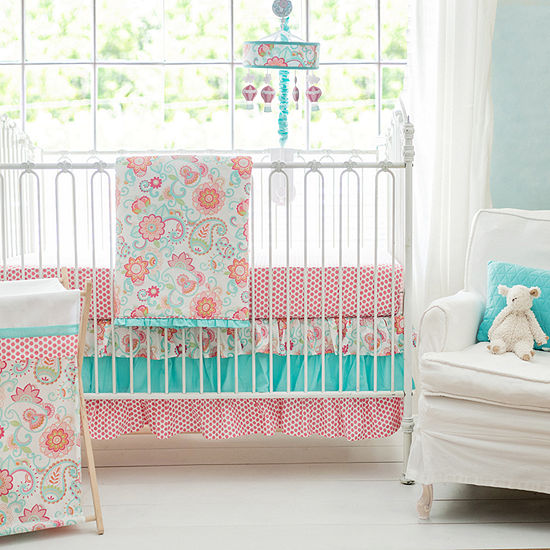 My Baby Sam Gypsy Baby 3-pc. Modern Crib Bedding Set