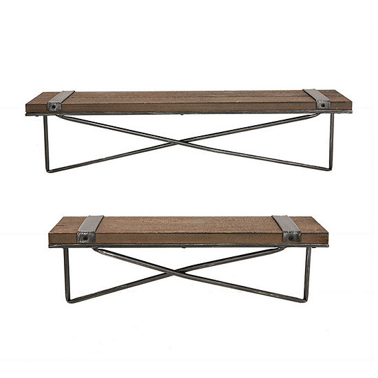 Glitzhome 2-pc. Wall Shelf