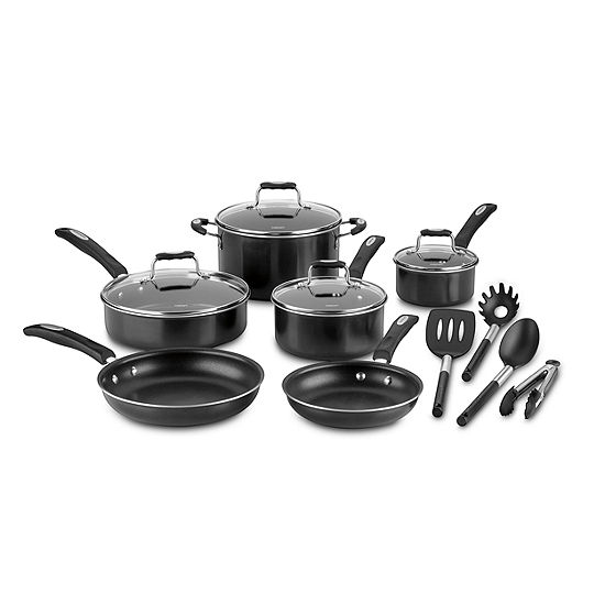 Cuisinart 14-Pc. Aluminum Non-Stick Cookware Set