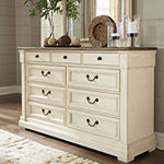 Signature Design by Ashley® Roanoke Dresser and Mirror