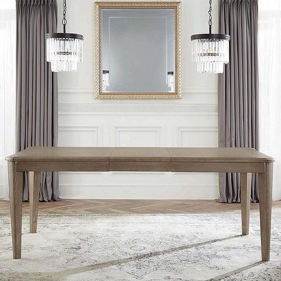 Hillsdale House Savona Rectangular Wood-Top Dining Table