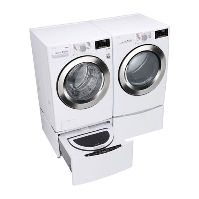 LG ENERGY STAR® 7.4 cu. ft. Smart Wi-Fi Enabled Front Load Electric Dryer