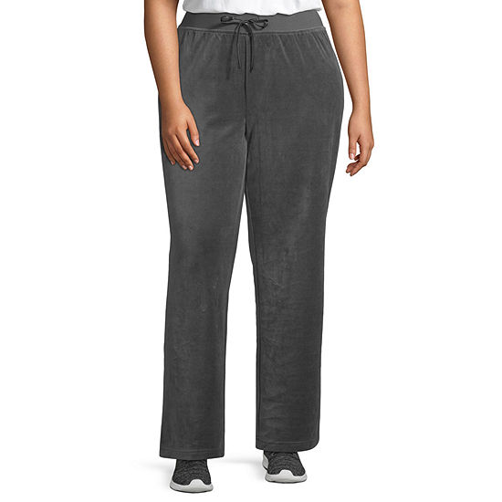 St. John's Bay Active Velour Pant - Plus