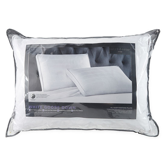 Liz Claiborne White Goose Down Pillow