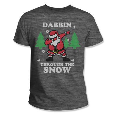 Dabbin' Thru The Snow Graphic Tee