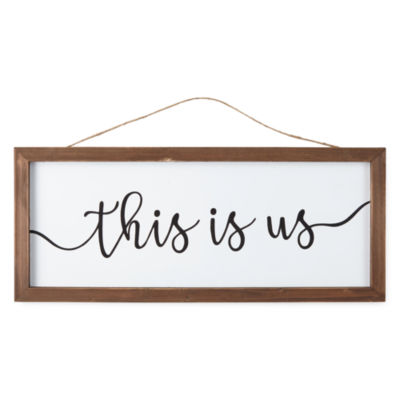 Peyton & Parker This is Us Wall Sign