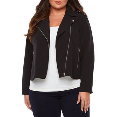 Bold Elements Midweight Motorcycle Jacket-Plus
