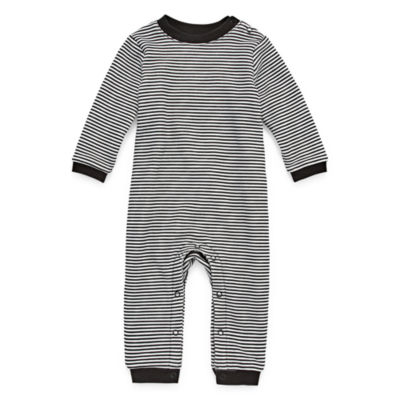 Peyton & Parker Long Sleeve Jumpsuit - Baby