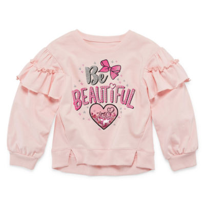 JoJo Siwa Crew Neck Long Sleeve Blouse Girls
