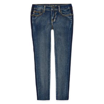 Vigoss Two Toned Skinny Jean - Girls Plus