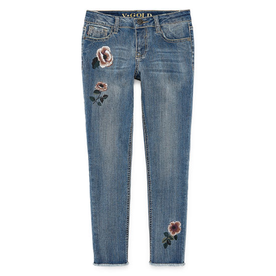 Vgold Skinny Fit Jean Big Kid Girls