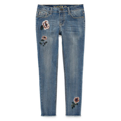 Vgold Girls Skinny Fit Jean Big Kid