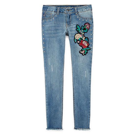 Vgold Girls Skinny Fit Jean Big Kid Plus