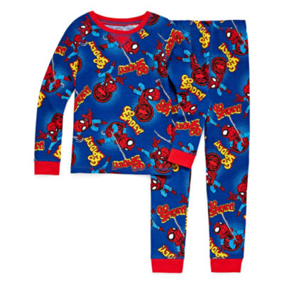 Round Neck Long Sleeve Thermal Set Boys